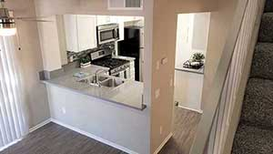 Overview of kitchen